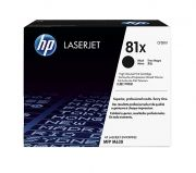 Консуматив HP 81X High Yield Black Original LaserJet Toner Cartridge