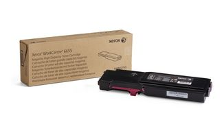 Xerox WorkCentre 6655 High Capacity Magenta Toner Cartridge (7500 pages)