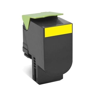 LEXMARK CX410/CX510 Yellow  Print Cartridge заправка