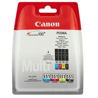 Canon CLI-551 CMYB Multipack
