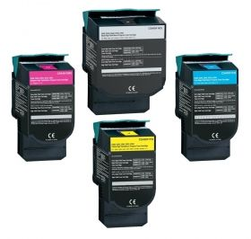 LEXMARK C540/543/546/X543/544/546/548 Yellow  Print Cartridge презареждане 2K