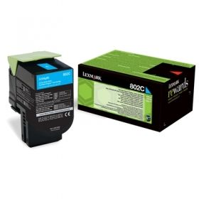 LEXMARK CX310/CX410/CX510Cyan  Print Cartridge презареждане