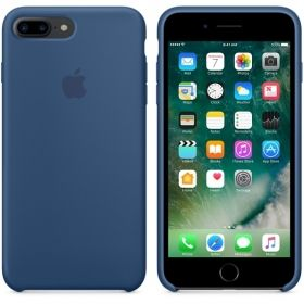 Калъф Apple iPhone 7 Plus Silicone Case - Ocean Blue