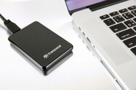 "Твърд диск Transcend 128GB 1.8"" (4.6cm) Portable SSD USB 3.0"