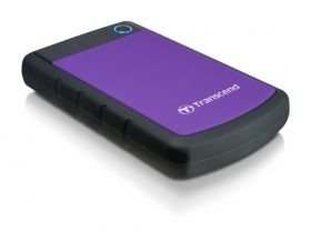 "Твърд диск Transcend StoreJet 2.5"" 3TB SATA (USB3.0, Rubber Case, Anti-Shock)"