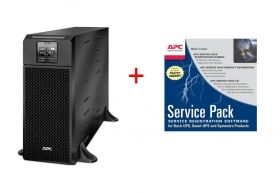 Непрекъсваем ТЗИ APC Smart-UPS SRT 6000VA 230V + APC Service Pack 3 Year Warranty Extension (for new product purchases)