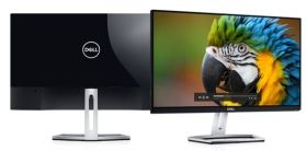 "Монитор Dell S2318H, 23"" Wide LED, IPS Anti-Glare, Ultrathin, FullHD 1920x1080, 6ms, 1000:1, 8000000:1 DCR, 250 cd/m2, VGA, HDMI, Speakers, Black&Silver"