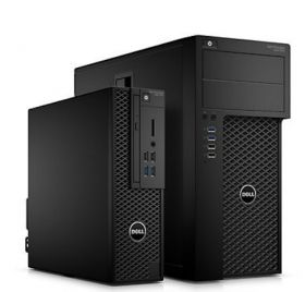 Работна станция Dell Precision T3620 MT, Intel Xeon E3-1220v6 (3.0Ghz up to 3.5Ghz, 8MB), 8GB 2400MHz DDR4, 1TB HDD, Integrated SATA Controller, DVD+/-RW, NVIDIA Quadro K420 2GB, Intel vPro, Mouse & Keyboard, Windows 10 Pro, 3Y NBD