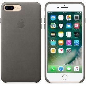 Калъф Apple iPhone 7 Plus Leather Case - Storm Gray