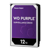 HDD 12TB SATAIII WD Purple 256MB for DVR/Surveillance (3 years warranty)