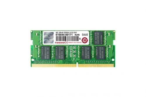 Памет Transcend 8GB 260pin SO-DIMM DDR4 2400 2Rx8 512Mx8 CL17 1.2V