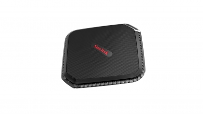 Външно SSD SanDisk Extreme 500 Portable SSD 120GB, Shock Resistant, read-write speed: up to 415 MB/s, 340 MB/s
