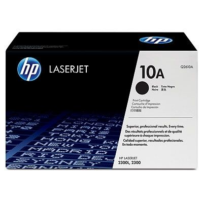 Консуматив HP 10A Black LaserJet Toner Cartridge