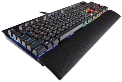Клавиатура Corsair Gaming™ K70 LUX RGB Mechanical Keyboard, Backlit RGB LED, Cherry MX Brown  (US)
