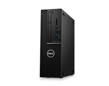 Работна станция Dell Precision 3430 Small Form, Intel Core i7-8700, (3.2GHz, 6 Core, 12MB), 8GB 2666MHz DDR4 UDIMM, 1TB SATA, NVIDIA Quadro P400 2GB, Intel vPro, Mouse & Keyboard, Windows 10 Pro, 3Y NBD