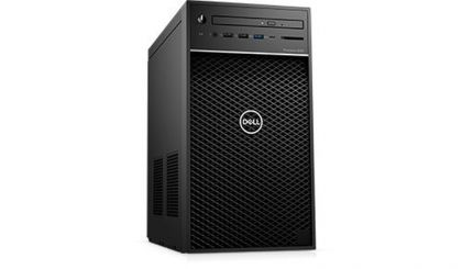 Работна станция Dell Precision 3630 Tower, Intel Xeon E-2124 (3.3GHz, 4 Core, 8MB), 8GB 2666MHz DDR4 UDIMM, M.2 256GB, 1TB SATA, Radeon Pro WX 2100 2GB, DVD+/-RW, Intel vPro, Mouse & Keyboard, Windows 10 Pro, 3Y NBD