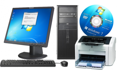 HP Compaq dc7800 с Windows 7 Pro, 19