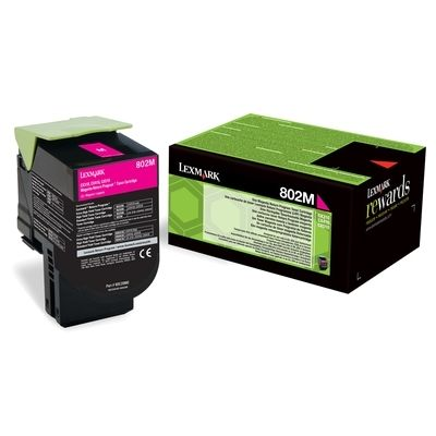 LEXMARK CX310/CX410/CX510 Magenta  Print Cartridge презареждане