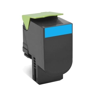 LEXMARK CX410/CX510 Cyan  Print Cartridge заправка
