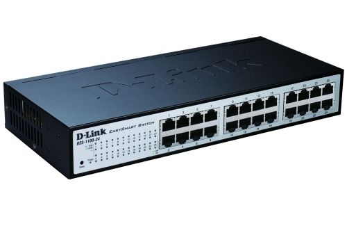 Комутатор D-Link 24-port 10/100 EasySmart Switch