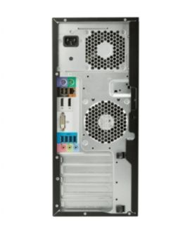 Работна станция HP Z240 Tower Xeon E3-1245v6 Quad(3.7GHz/8MB/4Cores), 8GB DDR4-2400Mhz ECC 1DIMM, 256GB SSD HDD, DVDRW, MCR, Intel HD Graphics P630, USB Slim Keyboard & Laser Mouse, Win 10 Pro 64bit