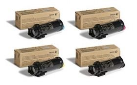 Xerox Cyan High Capacity Toner Cartridge for WorkCentre 6515/Phaser 6510 (2400 Pages)