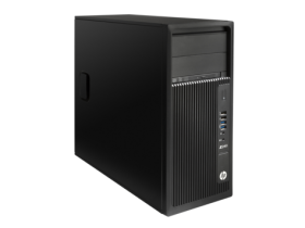HP Z240 Tower Workstation Intel® Xeon® E3-1225v5  (3.3 GHz, up to 3.7 GHz with Intel Turbo Boost, 8 MB cache, 4 cores) 8 GB DDR4-2133 nECC registered SDRAM (2 x 4 GB) 1 TB 7200 rpm SATA NVIDIA Quadro K620 2GB Slim SuperMulti DVDRW Win 10 Pro 64 Downgrade