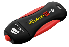 Флаш памет Corsair Voyager GT USB 3.0 128GB, Read 230MBs - Write 160MBs, Plug and Play