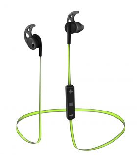Слушалки TRUST Sila Bluetooth Wireless Earphones - black/lime