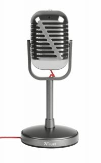 Микрофон TRUST Elvii Vintage Microphone for PC and laptop