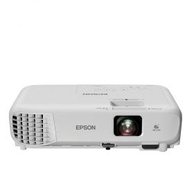 Мултимедиен проектор Epson EB-W05, WXGA (1280 x 800, 16:10), 3 300 ANSI lumens, 15 000:1, HDMI, USB, WLAN (optional), Speakers, Lamp: 12 months or 1 000 h, White