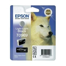 Epson T096 Light Light Black Cartridge - Retail Pack (untagged) for Epson Stylus Photo R2880