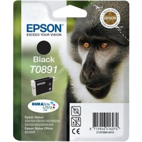 Консуматив Epson T0891 Black Ink Cartridge - Retail Pack (untagged)