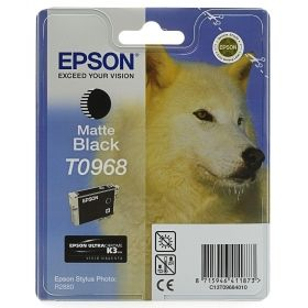 Консуматив Epson T096 Matte Black Cartridge - Retail Pack (untagged) for Epson Stylus Photo R2880