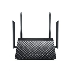 Рутер Asus RT-AC1200G+, Wireless-AC1200 Dual-Band Gigabit Router, 802.11ac, 867 Mbps (5GHz), 802.11n, 300 Mbps (2.4GHz), 2.4Ghz/5Ghz con-current dualband, USB printer Server / File sharing / 3G & 4G sharing, 1*USB 2.0