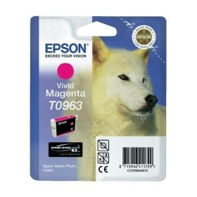 Консуматив Epson T096 Vivid Magenta Cartridge - Retail Pack (untagged) for Epson Stylus Photo R2880