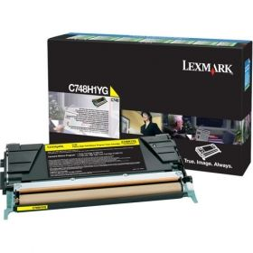 Консуматив Lexmark C748 Yellow High Yield Return Program Toner Cartridge
