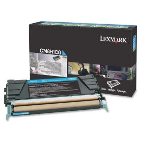 Консуматив Lexmark C748 Cyan High Yield Return Program Toner Cartridge