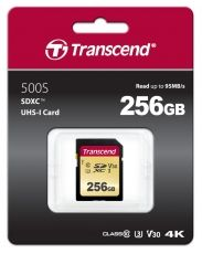 Памет Transcend 256GB SD card UHS-I U3, MLC