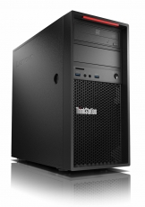 Workstation Lenovo ThinkStation P320 Tower,Intel Core i7-7700(3.6GHz up to 4.2GHz,8MB Cache),16(2x8)GB DDR4,256GB SSD,1TB 7200rpm,Intel HD 630,RAID 0,1,5,10 support,400W Platinum,DVD RW,9in1 CR,Win 10 Pro,(keyboard+mouse),3 years