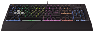 Клавиатура Corsair Gaming™ STRAFE RGB Mechanical Gaming Keyboard, Ultra-Quiet, Backlit Multicolor LED, Cherry MX SILENT (US)