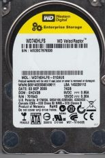 HDD 74GB SATAII VelociRaptor 10000rpm 16MB cache (Factory Recertified, 3 months warranty)