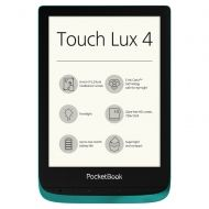 "POCKETBOOK TOUCH LUX 4 PB627, 6"", ЕМЕРАЛД"