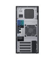 "Сървър Dell PowerEdge T140, Intel Core i3 8100 (3.6GHz, 4C/4T, 6M), 8GB 2666 DDR4 ECC UDIMM, 2 x 1TB SATA, Embedded SATA, iDrac9 Basic, 3.5"" Chassis up to 4 Cabled Hard Drives, 3Yr NBD"
