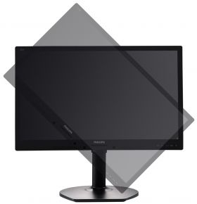 "Монитор Philips 221B6LPCB, 21.5"" Wide TN LED, 5 ms, 20M:1 DCR, 250 cd/m2, 1920x1080 FullHD, USB, DVI, DP, Speaker, 3y, Black"
