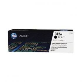 HP 312A Black LaserJet Toner Cartridge 2.4K