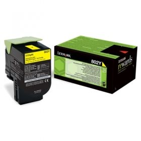 LEXMARK CX310/CX410/CX510 Yellow  Print Cartridge заправка