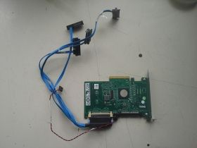 DELL SAS 6 IR PCI-E контролер с кабели