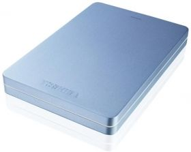 "Твърд диск Toshiba ext. drive 2.5"" Canvio ALU 3S 500GB Blue"