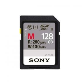 Памет Sony 128GB SD, Ultra High Speed, 10 UHS-II, 260MB/sec read, 100MB/sec write